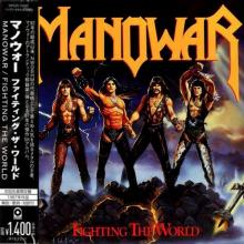 MANOWAR - FIGHTING THE WORLD (JAPAN EDITION +OBI) CD
