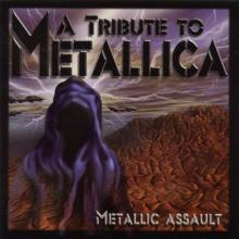 METALLICA - TRIBUTE - METALLIC ASSAULT (MEGADETH. KISS. ANTHRAX, WASP, MOTORHEAD...) CD