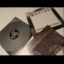 MANTAS - ZERO TOLERANCE (LTD HAND-NUMBERED EDITION 250 COPIES SILVER VINYL, SPECIAL DIE-CUT WINDOW COVER +POSTER) LP (NEW)