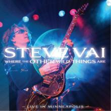 STEVE VAI - WHERE THE OTHER WILD THINGS ARE - LIVE IN MINNEAPOLIS (DIGI PACK) CD (NEW)