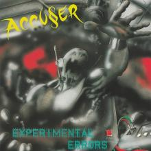 ACCUSER - EXPERIMENTAL ERRORS (LTD EDITION 350 COPIES +3 BONUS TRACKS) LP (NEW)