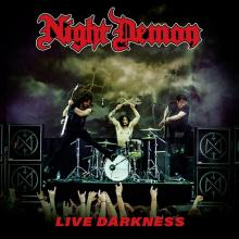 NIGHT DEMON - LIVE DARKNESS (RED VINYL, GATEFOLD INCL. 2CD) 3LP/2CD (NEW)