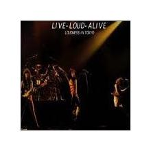 LOUDNESS - LIVE-LOUD-ALIVE (JAPAN EDITION GATEFOLD, +OBI) 2LP