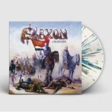 SAXON - CRUSADER (2018 REISSUE, LTD EDITION SPLATTER VINYL) LP (NEW)