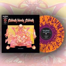 BLACK SABBATH - Sabbath Bloody Sabbath (Ltd 2500 / Orange & Purple Splatter, Gatefold) LP