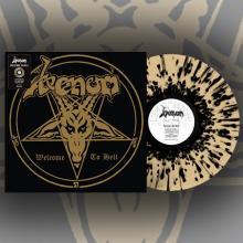 VENOM - Welcome to Hell (40th Anniversary / Splatter) LP
