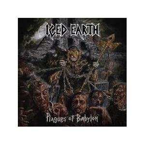 "ICED EARTH - PLAGUES OF BABYLON (LTD EDITION BLACK 10"" BOX SET) 3LP (NEW)"