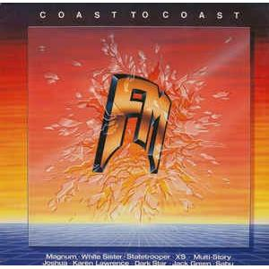 V/A - COAST TO COAST (MAGNUM, WHITE SISTER, STATETROOPER...) LP
