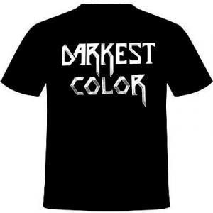 DARKEST COLOR - DARKEST COLOR T-SHIRT (SIZE: L) (NEW)