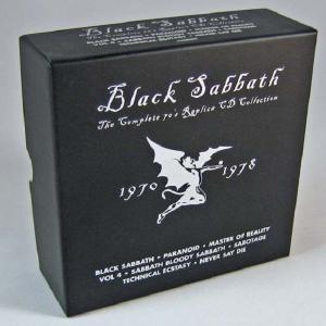 BLACK SABBATH - THE COMPLETE 70'S REPLICA CD COLLECTION 1970 - 1978 (LTD EDITION BOX SET INCL.: 8 CD LP-REPLICA & EXCLUSIVE 16-PAGE PHOTO BOOKLET) 8CD