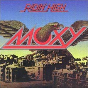 MOXY - RIDIN' HIGH (JAPAN PRESSING, PROMO) LP