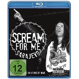 BRUCE DICKINSON - SCREAM FOR ME SARAJEVO BLU-RAY (NEW)