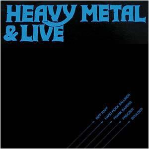 V/A - HEAVY METAL & LIVE (RIFF RAFF, HARD ROCK SALLINEN, FRANK BADERS...) LP