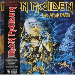 IRON MAIDEN - LIVE AFTER DEATH (LTD EDITION 2013 PICTURE DISC, GATEFOLD +OBI) 2LP