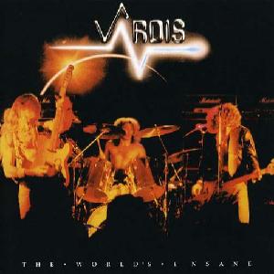 VARDIS - THE WORLD'S INSANE (JAPAN EDITION +OBI) LP