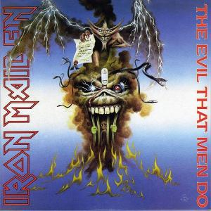 IRON MAIDEN - THE EVIL THAT MEN DO CD'S