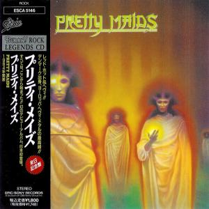 PRETTY MAIDS - SAME (JAPAN EDITION +OBI) CD