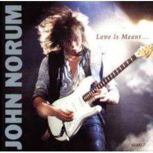 "JOHN NORUM - LOVE IS MEANT (3 TRACKS) 12"" LP"
