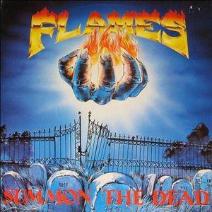 FLAMES - SUMMON THE DEAD (LTD EDITION 250 COPIES BLACK VINYL, GATEFOLD) LP (NEW)