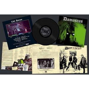 DAMASCUS - COLD HORIZON (LTD EDITION 200 COPIES BLACK VINYL) LP (NEW)