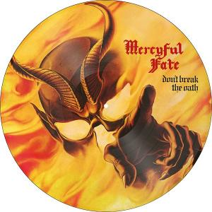 MERCYFUL FATE - DON'T BREAK THE OATH (LTD EDITION 2000 COPIES PICTURE DISC) LP (NEW)