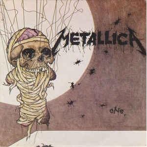 "METALLICA - ONE (AUSTRALIAN VERSION) 7"""