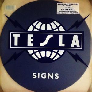"TESLA - SIGNS (LIM.EDIT BLUE VINYL) 12"" - LP"