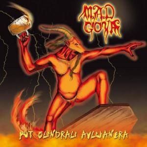 M.A.D GOYA - PUT OLINDRALI AVLIJANERA (LTD EDITION 1000 COPIES HAND NUMBERED +VIDEO) CD (NEW)