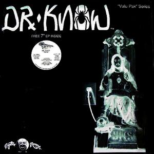 "DR. KNOW - PLUG-IN JESUS (INCL.""BURN"" 7"" EP) 12"" LP"