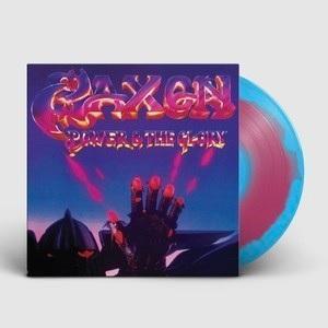 SAXON - POWER & GLORY (REISSUE 2018, LTD EDITION SWIRL VINYL) LP (NEW)