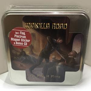 MANILLA ROAD - TO KILL A KING (DELUXE BOX SET INCL.: DIGIPACK CD, BONUS CD, FLAG, GUITAR PICK) 2CD BOX SET (NEW)