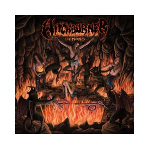 WITCHBURNER - DEMONS (LTD EDITION BLACK/RED VINYL, GATEFOLD +POSTER) LP (NEW)