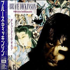 BRUCE DICKINSON - TATTOOED MILLIONAIRE (JAPAN EDITION +OBI) CD