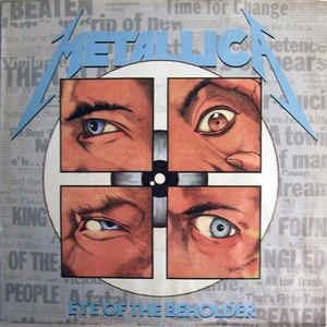 "METALLICA - EYE OF THE BEHOLDER (FIRST U.S.A. EDITION) 7"""