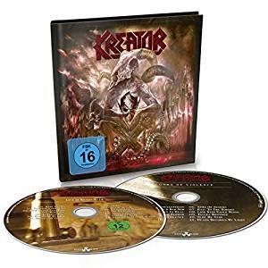 "KREATOR - GODS OF VIOLENCE (LTD EDITION DIGIBOOK +BONUS ""WACKEN LIVE"" DVD) CD/DVD (NEW)"