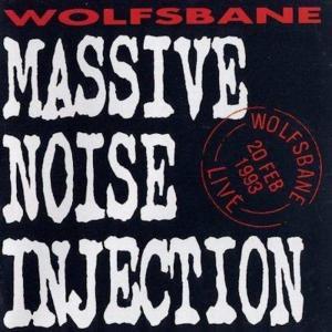 WOLFSBANE - MASSIVE NOISE INJECTION - LIVE '93 CD