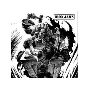 IRON JAWS - GUILTY OF IGNORANCE (LTD EDITION 300 COPIES HAND NUMBERED) LP (NEW)