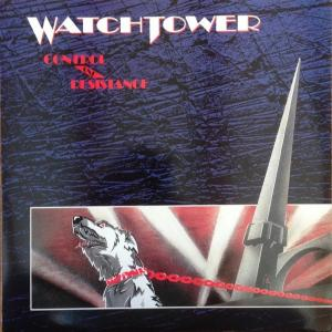 WATCHTOWER - CONTROL AND RESISTANCE (LTD INDIVIDUALLY NUMBERED EDITION 500 COLOURED COPIES) LP (NEW)