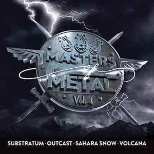 V/A - MASTERS OF METAL VOLUME 4 (SUBSTRATUM, OUTCAST, SAHARA SNOW, VOLCANA) CD (NEW)