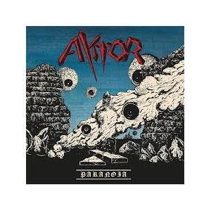 AKTOR - PARANOIA (TRANSPARENT RED VINYL) LP (NEW)
