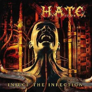 H.A.T.E. - INJECT THE INFECTION (+BONUS TRACK) CD (NEW)