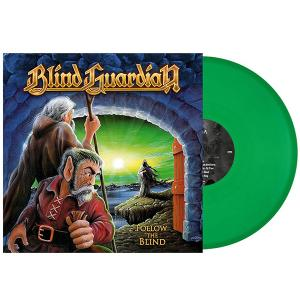 BLIND GUARDIAN - FOLLOW THE BLIND (2018 REISSUE, LTD EDITION 500 COPIES GREEN VINYL, GATEFOLD) LP (NEW)