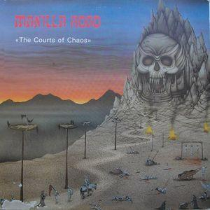 MANILLA ROAD - THE COURTS OF CHAOS (BLACK DRAGON) LP