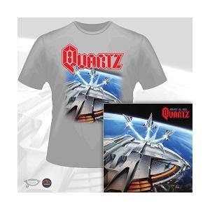 QUARTZ - AGAINST ALL ODDS (LTD EDITION 100 COPIES + T-SHIRT) CD/T-SHIRT SIZE: XL (NEW)