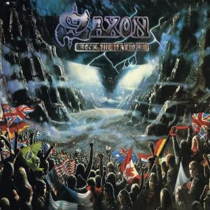 SAXON - ROCK THE NATIONS (LTD EDITION TRI-COLOUR VINYL) LP (NEW)