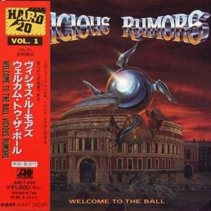 VICIOUS RUMORS - WELCOME TO THE BALL (JAPAN EDITION +OBI) CD