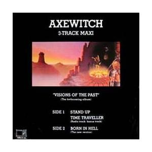 """AXE WITCH - VISIONS OF THE PAST (3 TRACKS) 12"""" LP"""