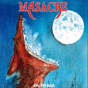 MASACRE - SIN PIEDAD (LTD 300 HAND-NUMBERED, RED VINYL) LP (NEW)