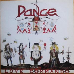 DANCE - LOVE COMMANDO LP