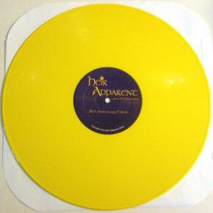 HEIR APPARENT - GRACEFUL INHERITANCE - 30TH ANNIVERSARY EDITION (LTD HAND-NUMBERED EDITION 500 COPIES YELLOW VINYL) LP (NEW)
